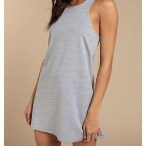 TOBI heather grey tank dress - size M